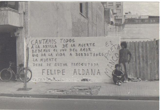 Pintada de El Poeta Manco