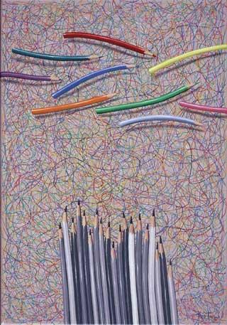 Vigilantes 50 x 35 cm 2008