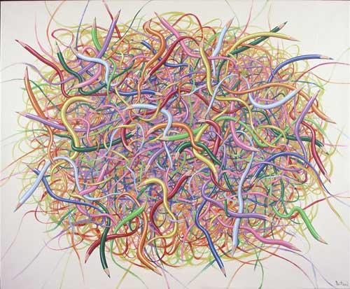 Nido de Ideas 100 x 120 cm 2009